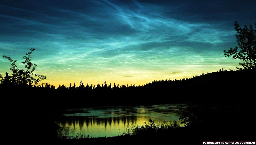 Серебристые (ночные светящиеся) облака