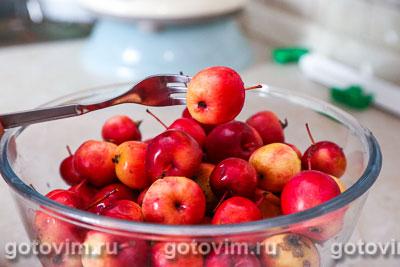 Варенье из прозрачных райских яблок, Шаг 01