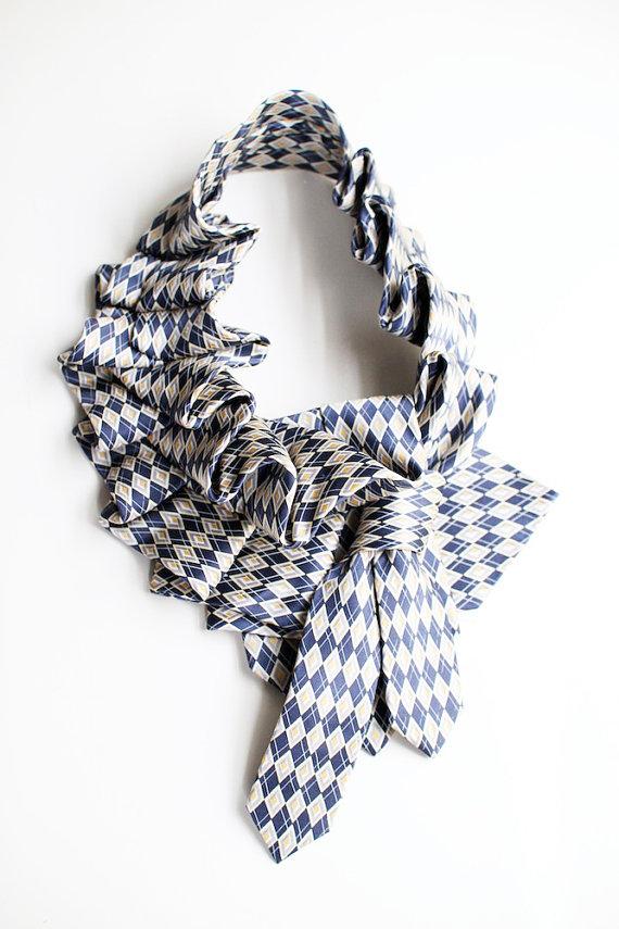 рукоделие из галстуков