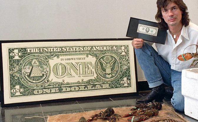 Как простой художник стал Личным Врагом Банка Англии и ФРС США
