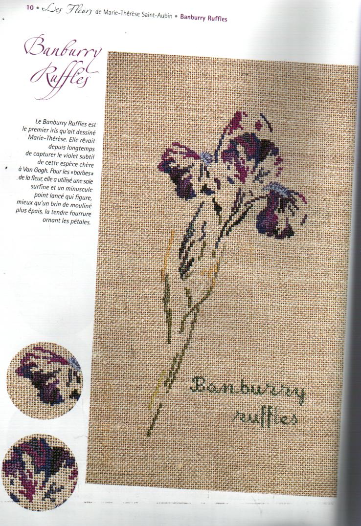 Удивительная вышивка Марии Терезы Сент-Обен