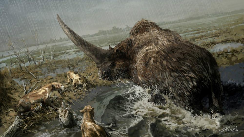4. Эласмотерии (Астраханская область). динозавры, доисторические животные, животные, история