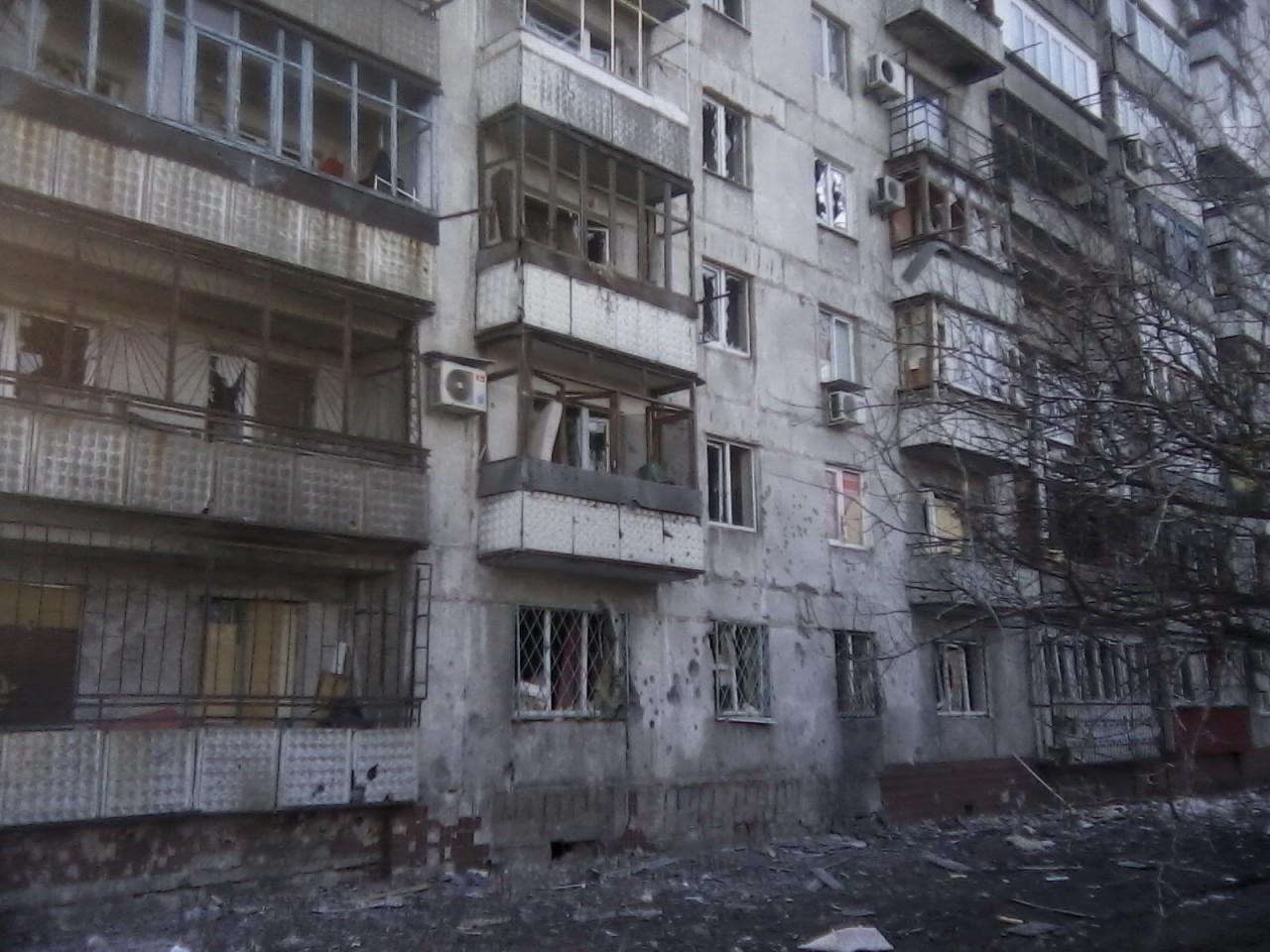 Донецк - очередной укробстрел