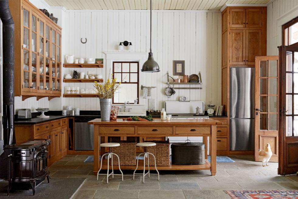 gallery 1429044194 hudson valley kitchen island 0515 Дизайн фасадов кухонных шкафов 60 фото