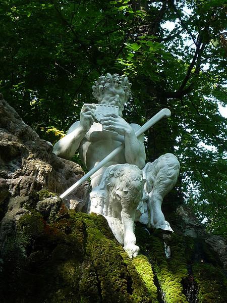 Мифы и искусство. Пан и нимфы