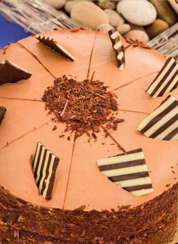 Шоколадный торт (Schokoladen)