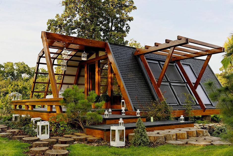 Загородный дом за пару часов