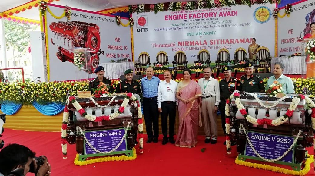 Индия полностью локализовала выпуск танковых двигателей В-46-6 и В-92С2