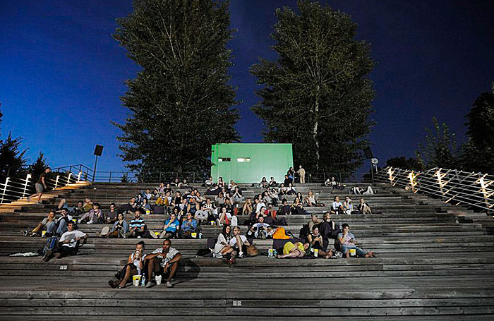 В Москве открыли 30 бесплатных летних кинотеатров