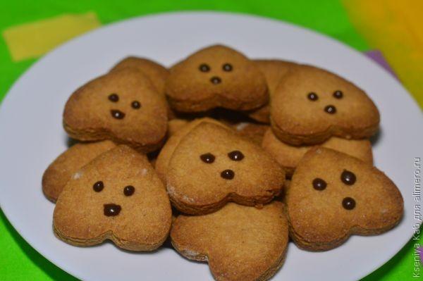 медовое печенье зайцы
