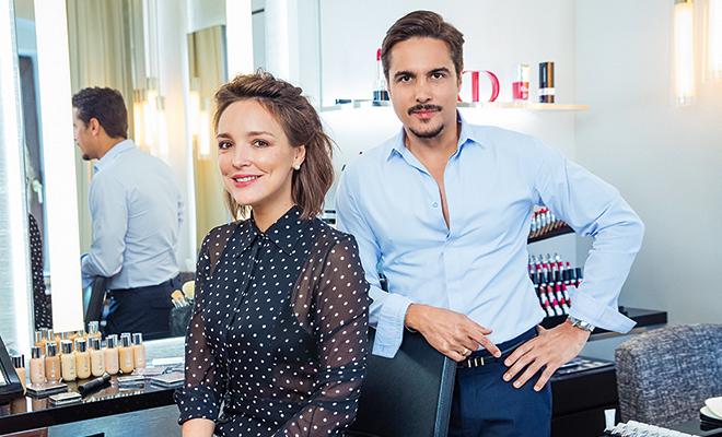 "В роли модели Алина Крюкова: урок ""макияжа без макияжа"" от звездного визажиста Dior Джуниора Седеньо"