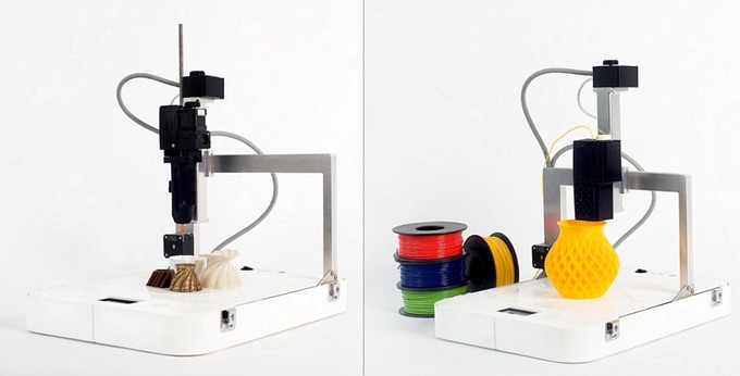 Портативный 3D-принтер печатает съедобными и несъедобными материалами (5 фото)