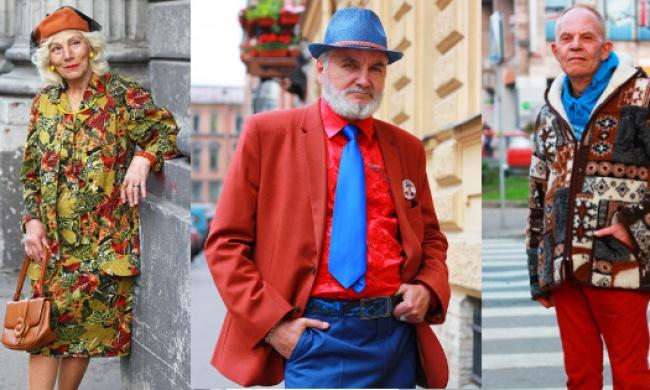 Старость в радость: стильные пенсионеры России
