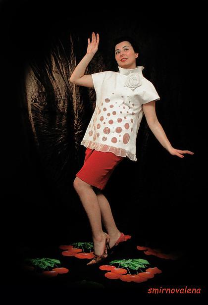 """Блузки ручной работы. Ярмарка Мастеров - ручная работа Блузка """"Секрет"""". Handmade."""