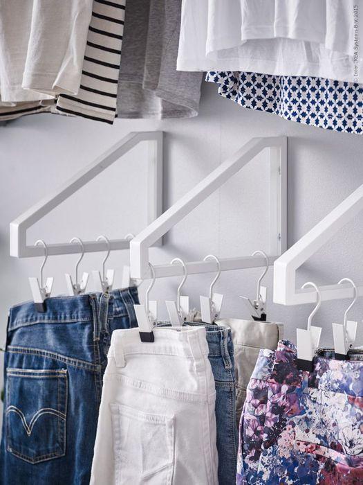 22 офигенных примера, как складывать вещи в шкафу...