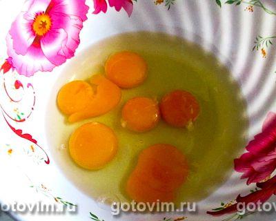 Омлет с плавленым сыром в мультиварке, Шаг 01