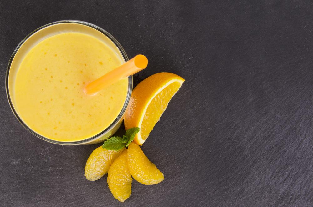 Рецепты смузи с бананом и апельсином