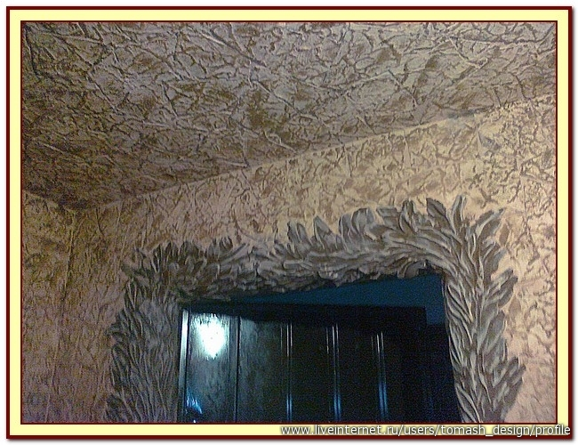 Оформление помещения потолочными пенопластовыми плитами. Мастер-класс от Томаш Ольги