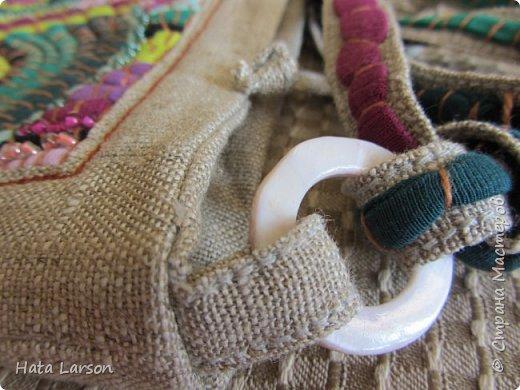Мастер-класс Поделка изделие Вышивка Вышивание бу футболками Бисер Канва Нитки Ткань фото 24