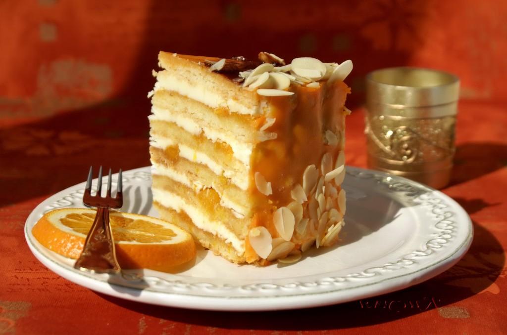 торт апельсиновый фоторецепт
