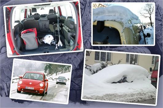 Худшие грехи автомобилистов в зимний период