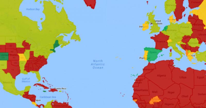 Атлас конопли: страны, в которых марихуана легализована, декриминализована или запрещена