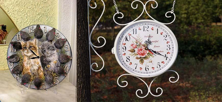 часы на дачу