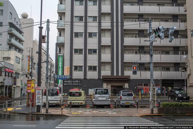 Особенности парковки в Японии
