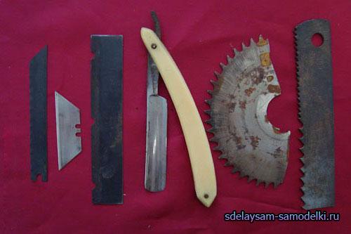 Как сделать своими руками инструменты для резьбы по дереву
