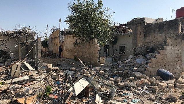 В Сирии при авиаударе коалиц…