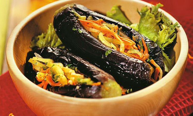 Манзаны — фаршированные баклажаны по-гречески. Неземной вкус