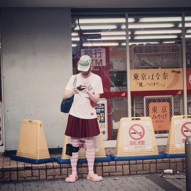 Еще один модник в мире, люди, прикол, япония