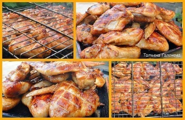 Готовим куриные крылышки - 10 лучших рецептов!