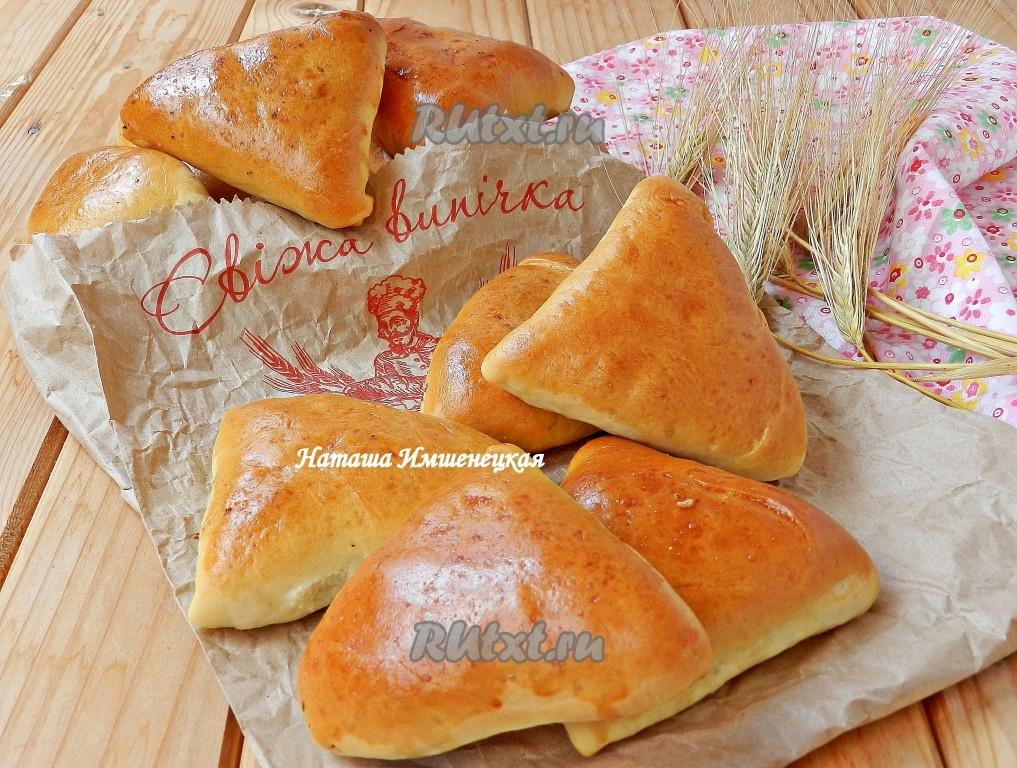 Жареные пирожки с печенью рецепт с фото