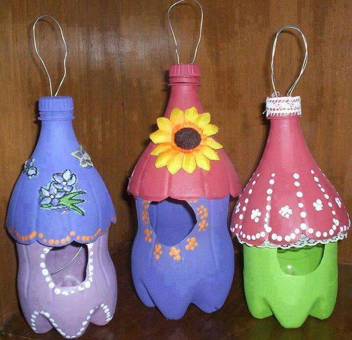 Кормушки своими руками из пластиковой бутылке
