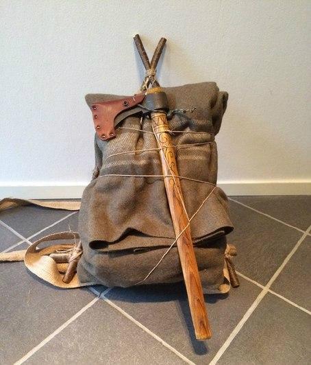 Самодельный станковой рюкзак