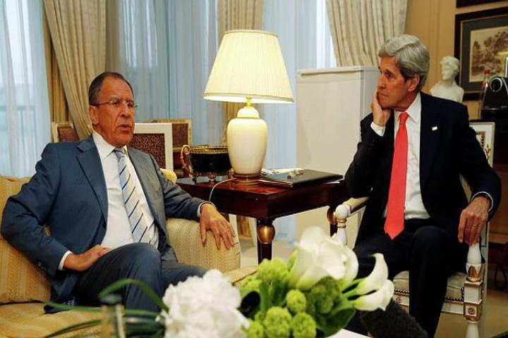 Лавров обсудит с Керри ситуацию в Сирии и на Украине