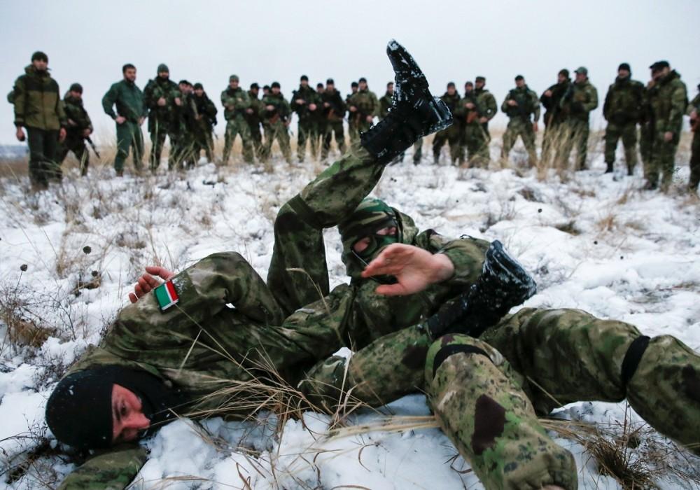 чеченский батальон Смерть (с) Reuters