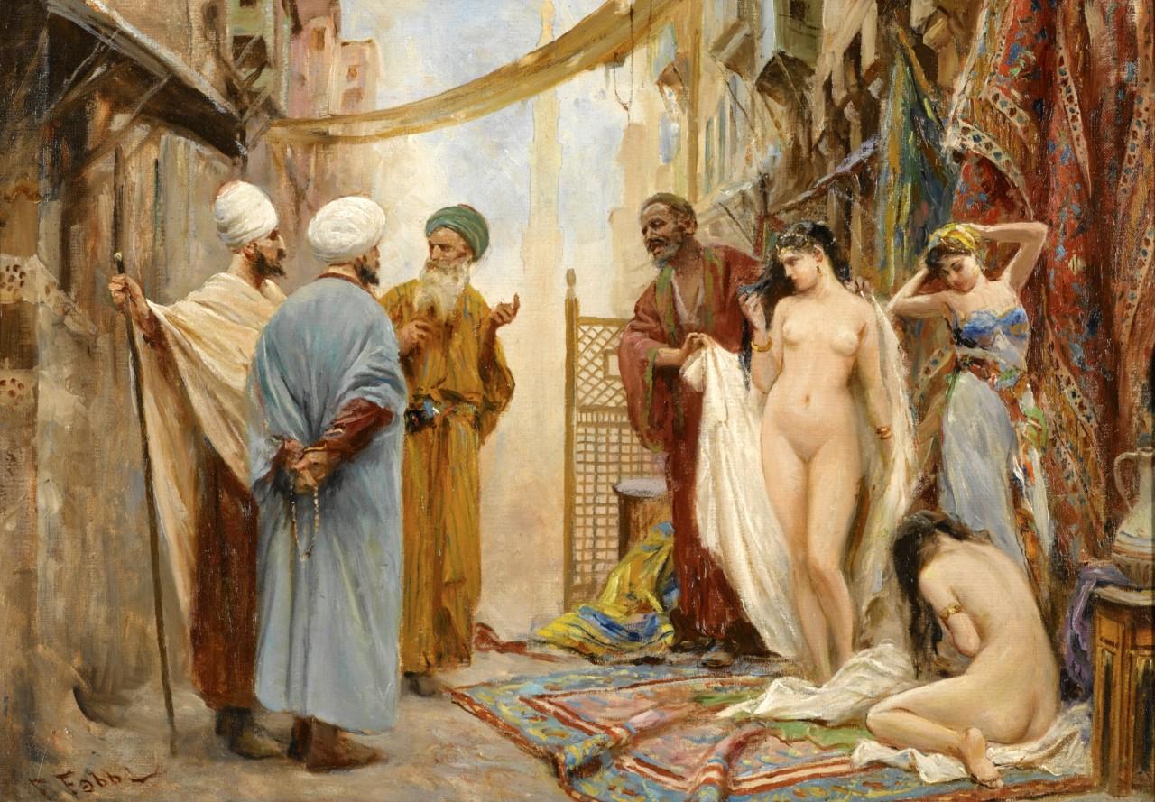 Рабыни картинки рисунки фото, История искусств: Торговля голыми рабынями на Востоке 7 фотография