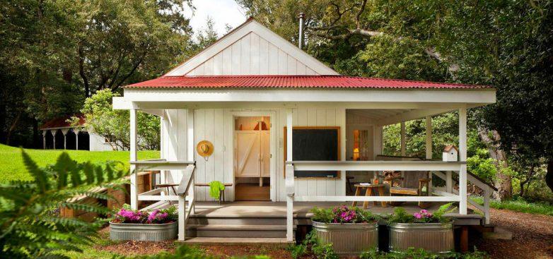20 очаровательных дачных домиков