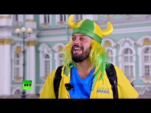 «Россия офигенна, братан!» - автор мема про Россию побывал в эфире RT