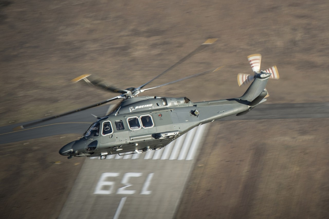 ВВС США выбрали вертолет МН-139 для замены UH-1N
