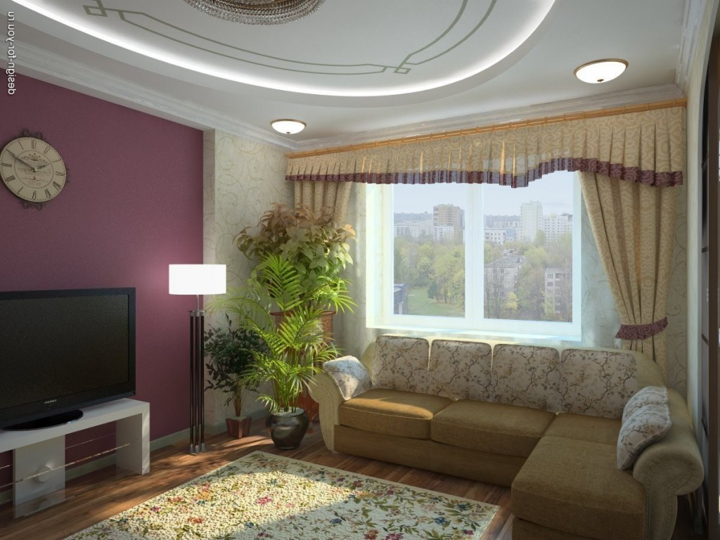 Дизайн в гостиной своими руками фото