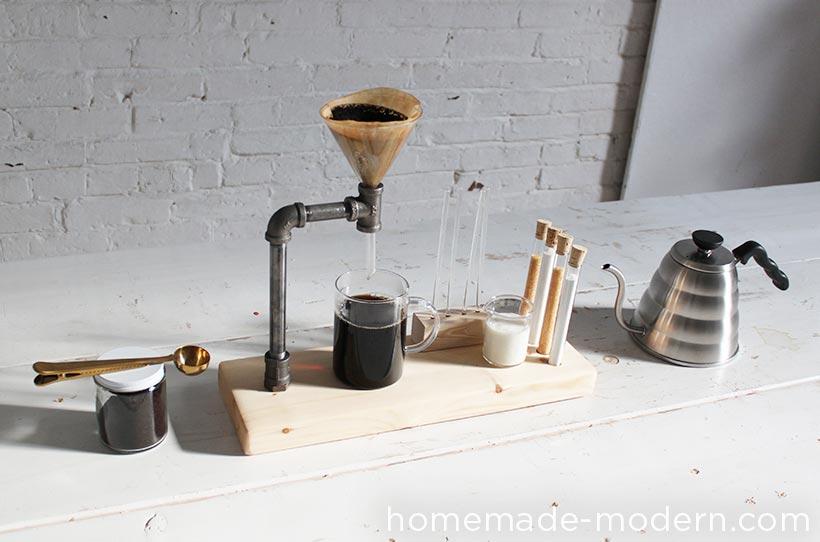 Как сделать простейшую кофеварку