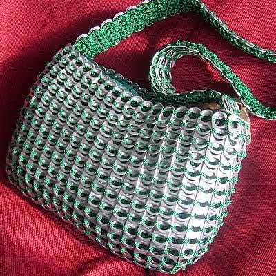 сумка из пивных банок
