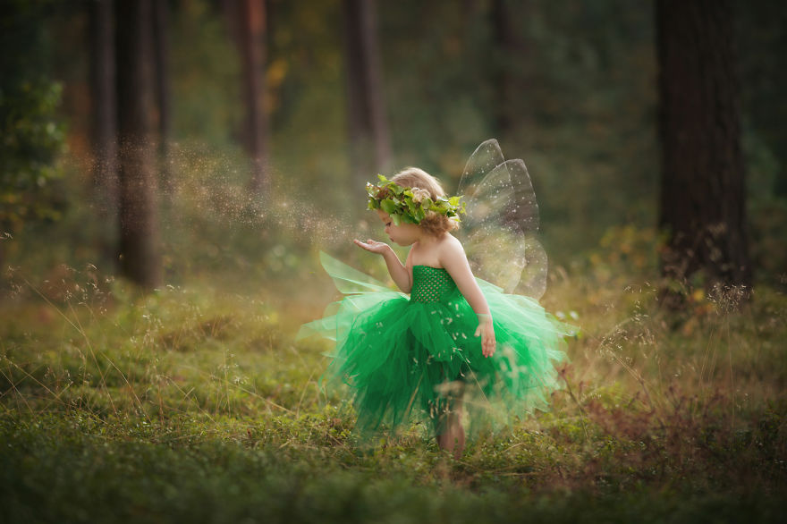 I Create Costumes For My Children And Photograph Them In Magical Scenarios