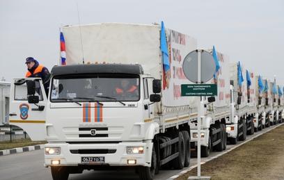 В августе в Донбасс отправятся три гуманитарные колонны