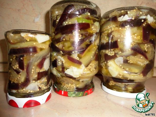 заготовки на зиму баклажаны рецепты