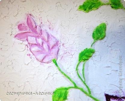 Интерьер Мастер-класс Лепка Лепка на стене №2 Бумага Гипс Краска фото 22