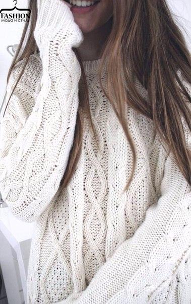Тёплые и красивые свитерочки